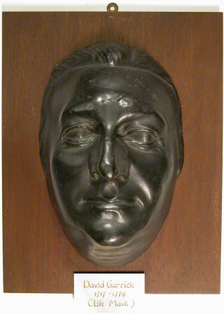 Life mask of David Garrick (1717-1779)