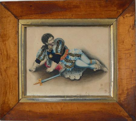 Edmund Kean (1787-1833) as 'Richard III' in William Shakespeare's 'Richard III'