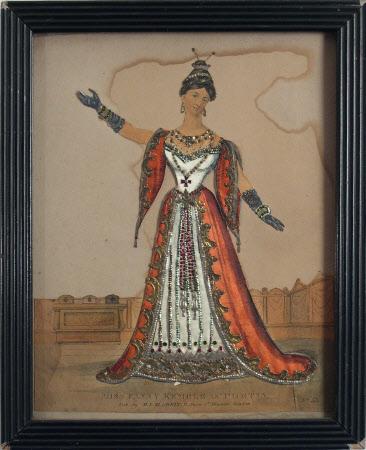 Frances (Fanny) Anne Kemble (1809-1893) as 'Portia' in William Shakespeare's 'Merchant of Venice'