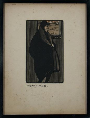 Sir Henry Irving (1838-1905) as 'Louis XI' in Don Boucicault's 'Louis XI'