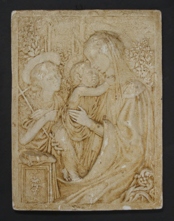 Virgin and Child with Infant Saint John (after Botticelli)