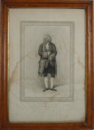 George Frederick Cooke (1756-1812) as 'Sir Pertinax MacSycophant'  in 'The Man of the World' by ...