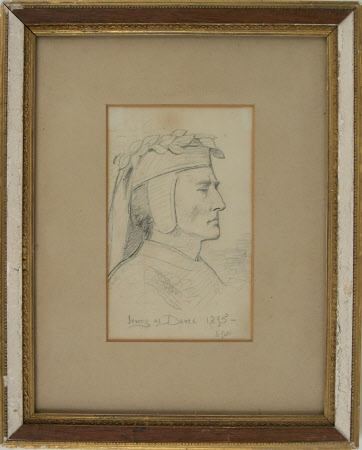 Sir Henry Irving (1838-1905) as 'Dante'
