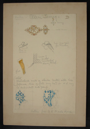 Designs for Costumes and Jewellery for Dame Ellen Terry's 'Portia' in William Shakespeare's ...