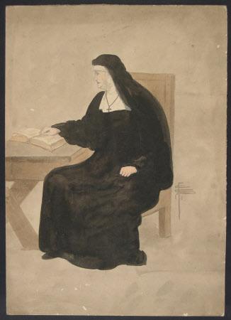 Dame Ellen Terry (1847-1928) as 'Francesca' in William Shakespeare's 'Measure for Measure'