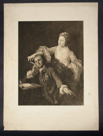 David Garrick (1717-1779) and his wife Eva Maria Veigel (1742-1822)