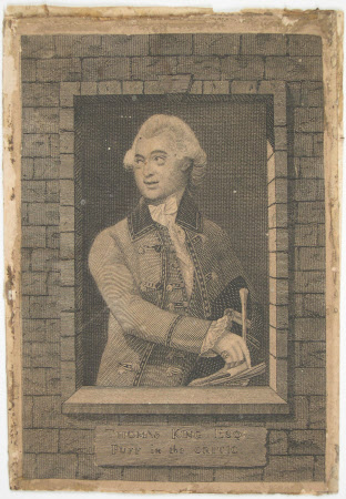 Thomas King (1730-1805) as 'Puff' in 'The Critic' by Richard Brinsley Sheridan (after Johann ...