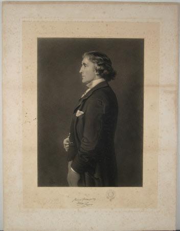 Sir Henry Irving (1838-1905) (after Sir John Everett Millais RA)