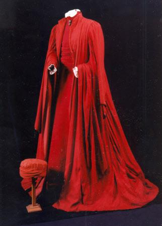Costume for 'Portia' in 'The Merchant of Venice'