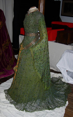 Costume for 'Lady Macbeth' in MACBETH (Beetle wing costume)