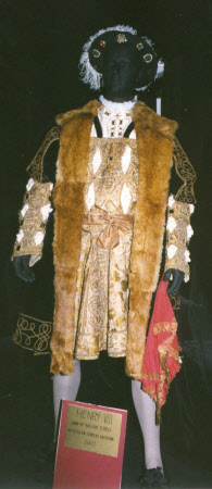 Costume for William Terriss as 'Henry VIII' in 'HENRY VIII'