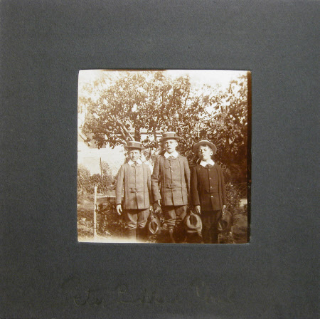 Peter Craig, Robin (Bobby) Craig and Philip Craig the sons of Edward Henry Gordon Craig (1872–1966) ...