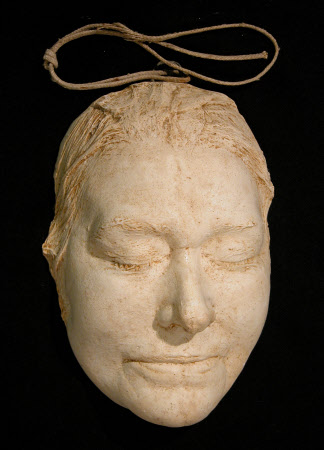 Death mask of Dame Ellen Terry (1847-1928)