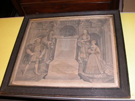 King Henry VII (1457-1509), Elizabeth of York (1466-1503), King Henry VIII (1491-1547) and Jane ...