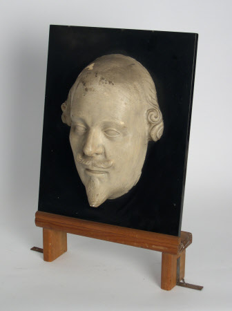 Plaster mask of William Shakespeare (1564-1616)