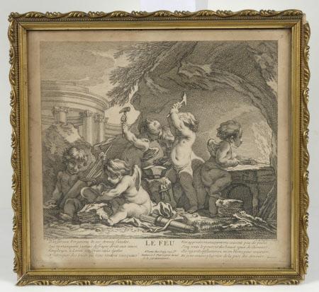 Le Feu (after François Boucher)