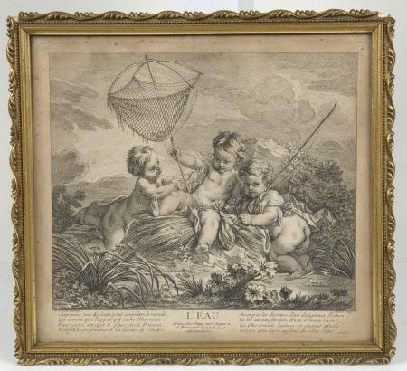 L'Eau (after François Boucher)