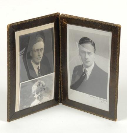 Henry John Ralph Bankes (1902-1981) and his son John Ralph Bankes (1936-1996)