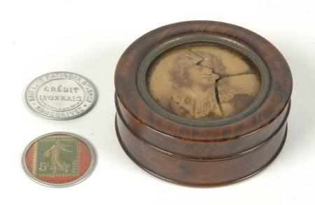 Box with print of Napoleon-François-Charles-Joseph Bonaparte, Napoleon II, King of Rome, duc de ...