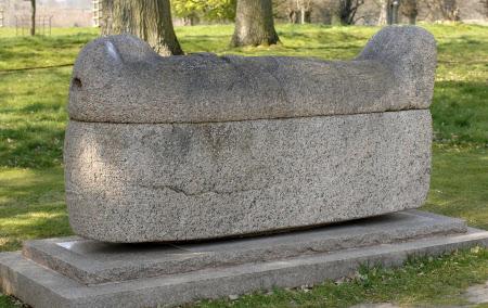Red Granite Sarcophagus of Amenemope, Chief Steward of Amun, Thebes