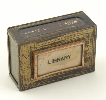 Matchbox holder