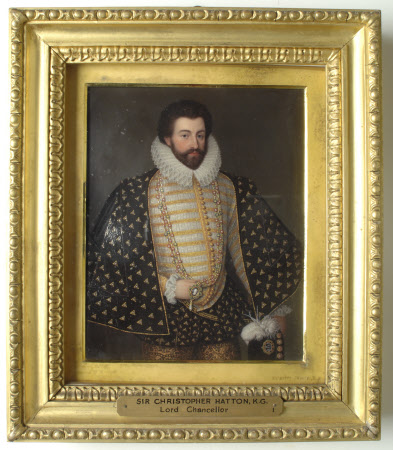 Sir Christopher Hatton, KG, (1540-1591) (after Cornelis Ketel)
