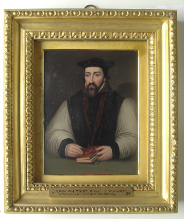 John Whitgift (1530-1604) Archbishop of Canterbury (after British (English) School)
