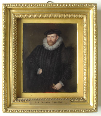 Edward Grimston of Bradfield MP (1508-1600) (after Robert Peake the elder)