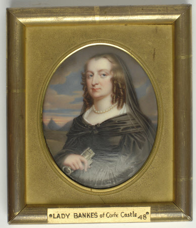 Mary Hawtrey, Lady Bankes (1598-1661) (after John Hoskins)