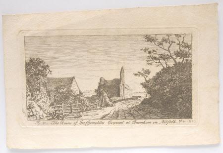 The Ruins of the Carmelites Convent, Burnham, Norfolk