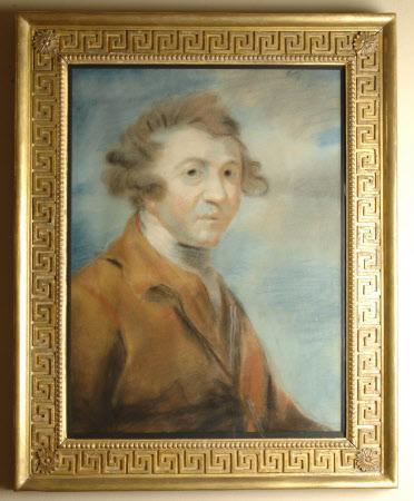 Self-portrait (after Sir Joshua Reynolds)