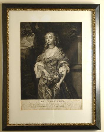 Jane Needham, Mrs Charles Myddleton (1645-1692) (after Sir Peter Lely)