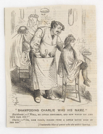 'Shampooing Charlie was his name'.