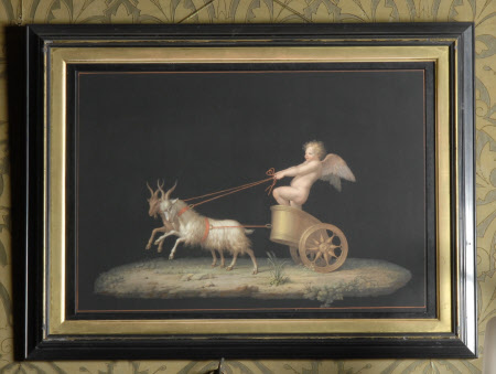 Cupid in a Chariot drawn by Goats