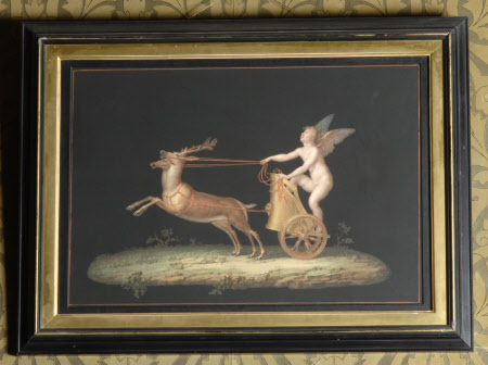 Cupid in a Chariot drawn by Deer