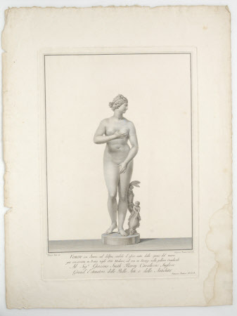 Venus de' Medici (after Tomasso Piroli)