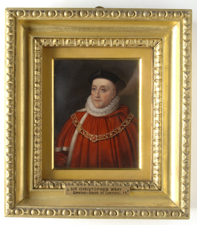 Sir Christopher Wray (1524-1592) (after British (English) School: 1582)