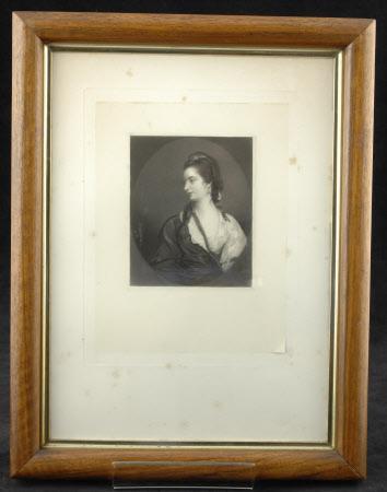 Frances Payne, Mrs William Woodley (1738-1813) (after Sir Joshua Reynolds)