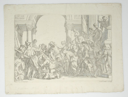 The Martyrdom of St Sebastian (after Paolo Veronese)