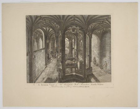 An Inside View of St. Winifred's Well, Flintshire, North Wales