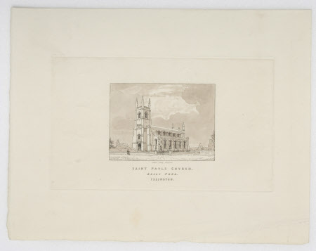 'Saint Paul's Church, Balls Pond, Islington'