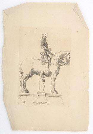 Equestrian statue of Bernabò Visconti, Lord of Milan (1354 -1385)