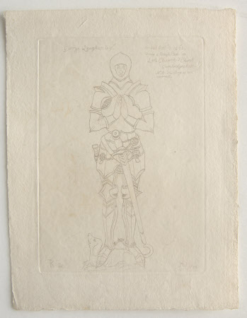 Effigy of George Laughan (d.1462) (after The Reverend Thomas Kerrich)