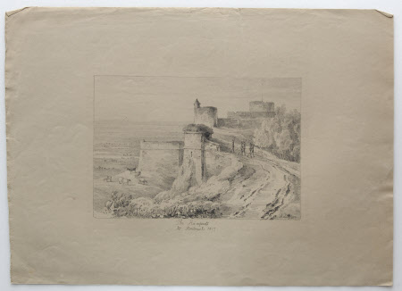 The Ramparts at Montreuil: 1817