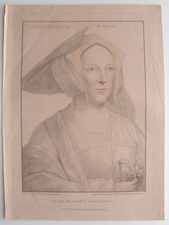 Margaret Wotton, Marchioness of Dorset, (1517-1535) (after Hans Holbein the younger)