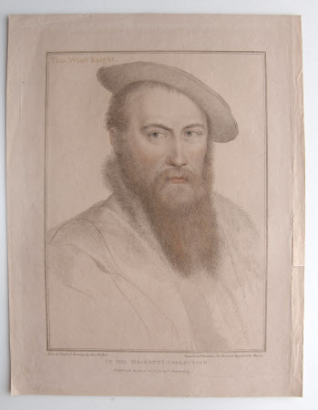 Sir Thomas Wyatt the younger (1521?-1554) (after Hans Holbein the younger)