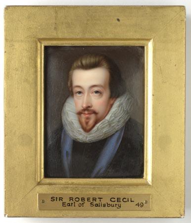 Robert Cecil, 1st Earl of Salisbury (1563-1612) (after John de Critz the elder)