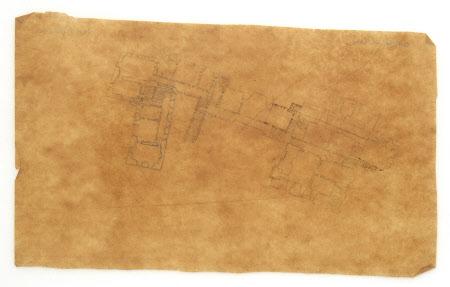 Floor Plan and internal room arrangement at Corfe Castle