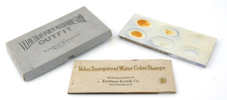 Watercolour stamp