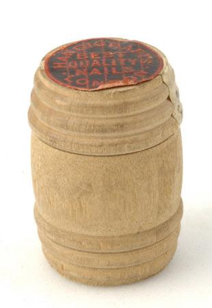 Miniature nail barrel